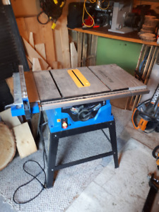 Table saw buy or sell tools in lethbridge kijiji classifieds mastercraft 10 table saw with telescopic extension table greentooth Choice Image