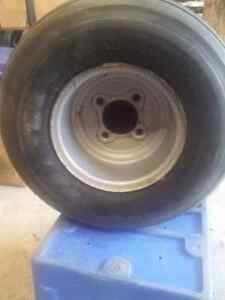 Harley golf cart rims and tires with moon caps Kitchener / Waterloo Kitchener Area image 4