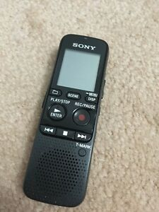 SONY Voice Recorder- Great for Lectures