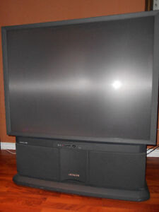 52 inch Hitachi projection TV for sale
