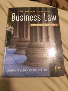 Business law principles and cases