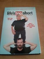 LIFE'S TOO SHORT de Ricky Gervais en DVD