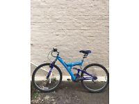 Blue Suspension Mountain Bike good condition