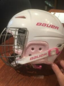 Youth hockey/skating helmet