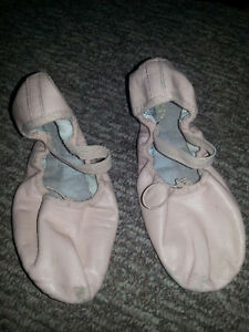 Ballet dance shoes various sizes 5-1/2, 5 , 4 , 3