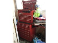 Snap On Tool Chest and tools (95% Snap on tools)