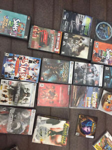 LOTS 40 -PC COMPUTER GAMES ALL POPULAR  LIKE SIMS WARCRAFT MORE
