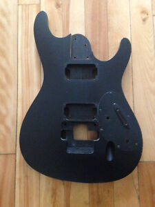 Ibanez body with ZR tremolo