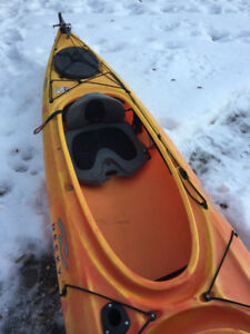 Necky Manitou 2 tandom kayak and Discovery 17' canoe