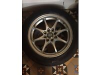 "4x100/108 15"" Alloy Wheels"