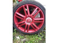Audi S3 , Rs3 , A3 Alloy wheels