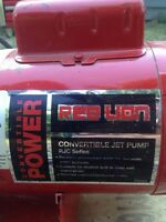 Red Lion Convertible Water Pump
