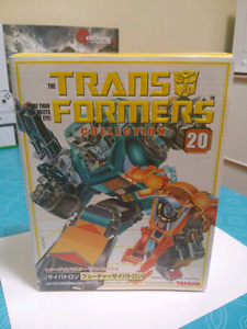 TFC 20 Kup and Wheelie G1 Transformers Reissue Takara