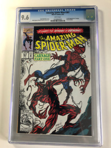 1st Carnage in Amazing Spider-man comic 361 CGC 9.6 $295 OBO
