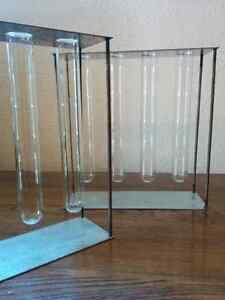 Vintage Test Tube Holder, Barware, Flower Vase, Decor, Storage G Kitchener / Waterloo Kitchener Area image 1