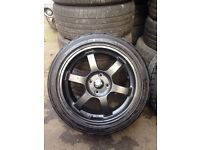 Rota lightweight wheels 4x100 ( postage available )