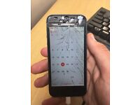 iPhone 5 working with smash screen