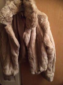 Lipsy London fur coat