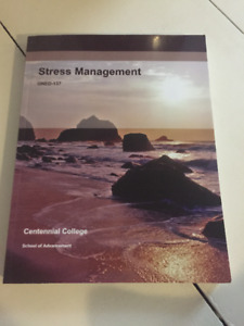 Stress Management GNED-137-Centennial College- Used Book