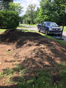 Terre à donner (top soil)