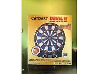 Electronic soft tip dartboard game