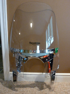 Triumph Rocket 3 Touring Windshield with Lock.