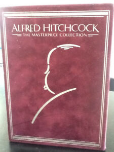 "DVD ALFRED HITCHCOCK  ""THE MASTERPIECE COLLECTION"""
