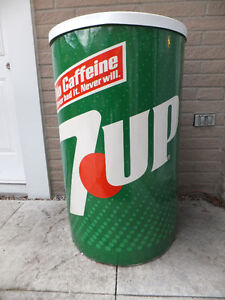 PEPSI PRODUCT - COOLER - 7-UP / DR PEPPER  -  3'  x  2'
