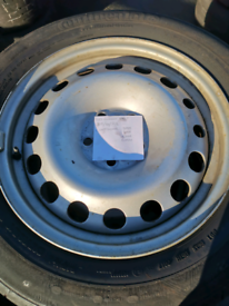 Ford connect wheels and tyres