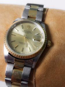 18kt Yellow Gold Rolex Watch (Men's)