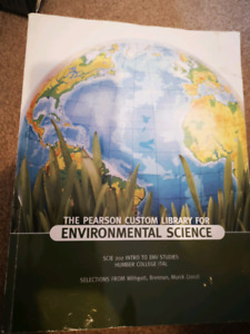 Environmental Science texbook - Pearson Custom Library