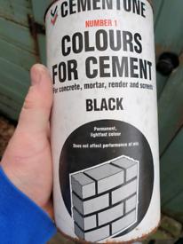 Cementone black cement dye 1kg