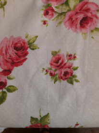 64x70 inch rose curtains