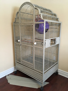 Large Victorian Top Bird Cage by A&E Cage Co *ON SALE & UPDATED*