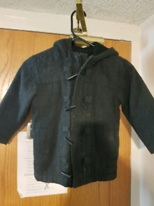 4T Dark Boy Gray Jacket