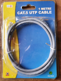 CAT 5 UTP Cable, Still in packaging