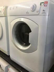 Hotpoint white rear vented 6kg tumble dryer
