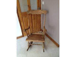 For sale old rocking chair
