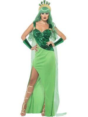 Medusakostüm Antike Griechen Medusa Hexen Kostüm Damen Gr  L