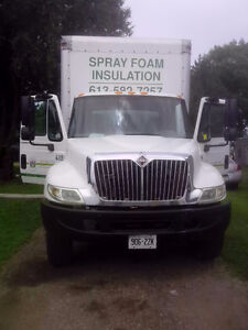 Complete Spray Foam Truck