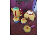 Children's kitchen sounds kitchen set