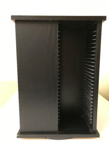 ROTATING  CD/DVD   STORAGE  STAND  (REDUCED)