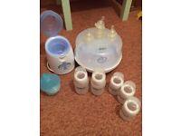 Baby AVENT BOTTLES, steriliser