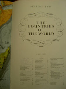 The Reader's Digest Great World Atlas First Edition Revised 1962 West Island Greater Montréal image 4