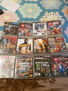 Ps3 games to trade