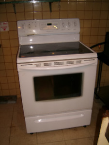 Frigidaire gallery series smooth smooth cook top stove ..