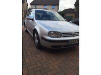 2002 Volkswagen Golf 5 Dr SDi Diesel 02 Plate/Silver