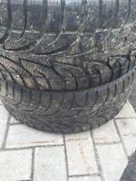2 pneu hivers 225/40r18