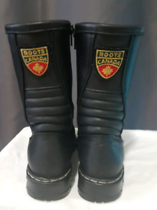 Roots Sherpa Warrior Leather Black Boots (snow boots)
