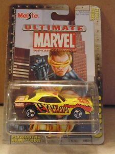 ULTIMATE MARVEL COLLECTION SET OF 9 RARE FIND CARS